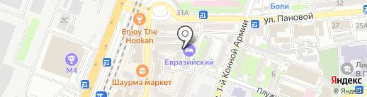 Просто Бар на карте Ростова-на-Дону