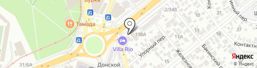 ТНС Энерго Ростов-на-Дону, ПАО на карте Ростова-на-Дону