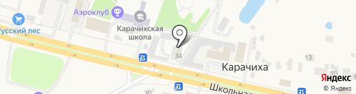 ЯрКолесо на карте Карачихи