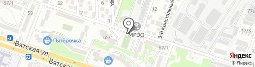 Центр автострахования на карте Ростова-на-Дону