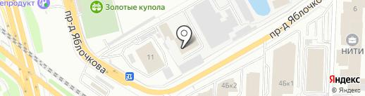Центральный парк культуры и отдыха на карте Рязани