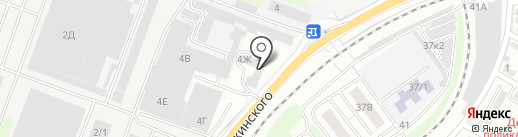 ЮКЕЛ на карте Ростова-на-Дону