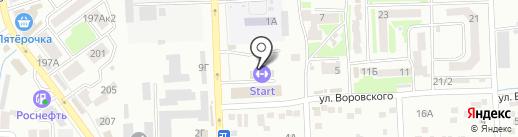 Ростовская Федерация Киокушинкай Каратэ-до на карте Батайска