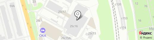 Дом Краски Георгия Селезнёва на карте Рязани