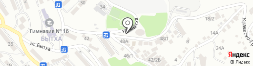 KEY-OKEY на карте Сочи