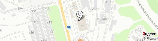 Чистюля на карте Рязани