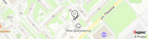 Соседи на карте Ярославля