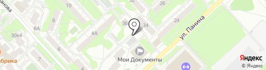 Универсалремстрой на карте Ярославля