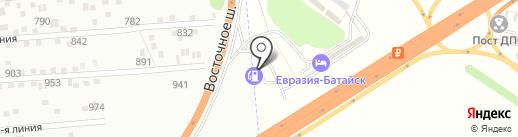 Банкомат, Банк Зенит, ПАО на карте Батайска