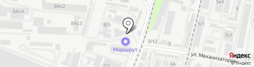 Компания по аренде спецтехники на карте Ростова-на-Дону