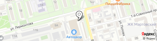 AKBshki.ru на карте Рязани