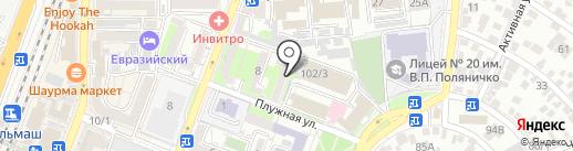 Служба начисления по физическим лицам на карте Ростова-на-Дону