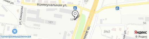Русский фейерверк на карте Батайска