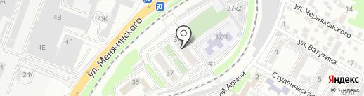 Матрешкино на карте Ростова-на-Дону