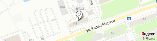 Детская музыкальная школа №36 на карте Северодвинска