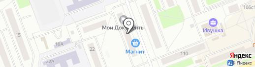 МАРС на карте Северодвинска