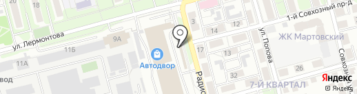 Академия Плюс на карте Рязани