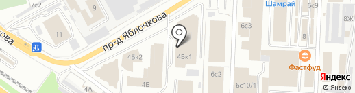 Цвет Диванов на карте Рязани