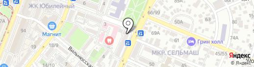 Твой стиль на карте Ростова-на-Дону