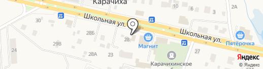 Сад Удачи на карте Карачихи