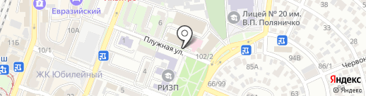 Энергосервис на карте Ростова-на-Дону