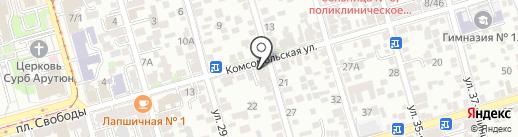 ПИВБАЗА на карте Ростова-на-Дону