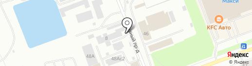 Компания по продаже пиломатериалов на карте Северодвинска