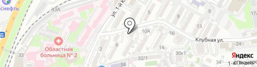 Безопасный город на карте Ростова-на-Дону