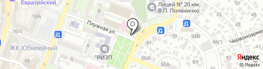 АлЛеГро professional на карте Ростова-на-Дону