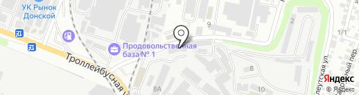 DONMAX на карте Ростова-на-Дону