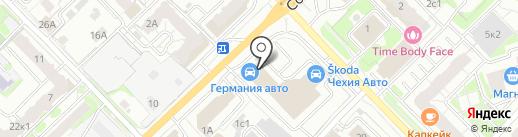 Автоимпорт на карте Рязани