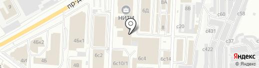Рубин на карте Рязани