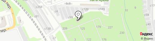 Знайка на карте Рязани