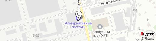 Альтернативное строительство на карте Рязани