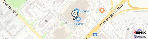 BERKONTY на карте Рязани