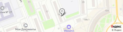 Почтовое отделение №14 на карте Северодвинска