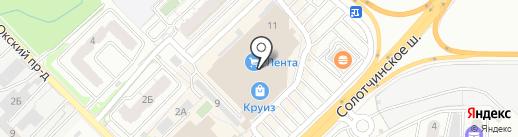 Real time на карте Рязани