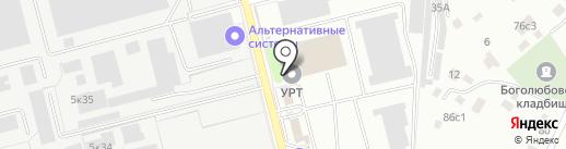 Умка на карте Рязани