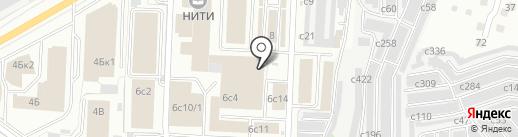 Симплекс на карте Рязани