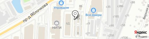 Магазин замков и скобяных изделий на карте Рязани