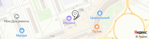 Лавка пасечника на карте Северодвинска