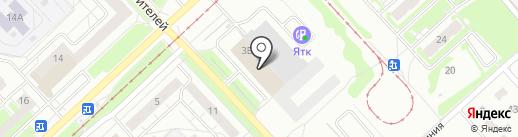 ЯIБ на карте Ярославля