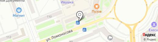 Магазин цветов на карте Северодвинска
