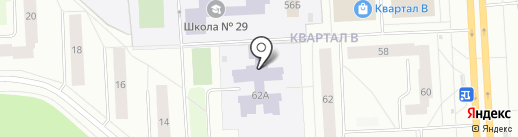 Детский сад №3, Морозко на карте Северодвинска