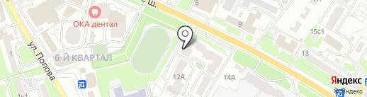 Протторг на карте Рязани