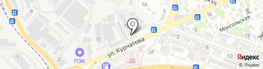 Юникс на карте Ростова-на-Дону