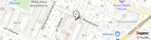 ДОН-КОЙОТ на карте Ростова-на-Дону