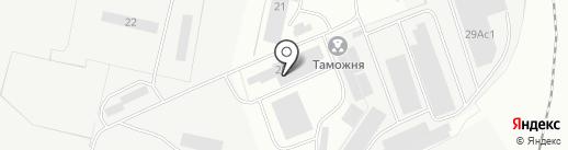 Грузовик на карте Рязани