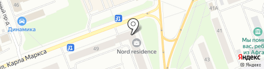 Nord Residence на карте Северодвинска