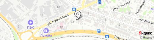 1000+ на карте Ростова-на-Дону
